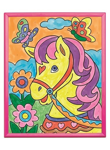 Alex 492 Numaralı Boyama & Pony Renkli Renkli